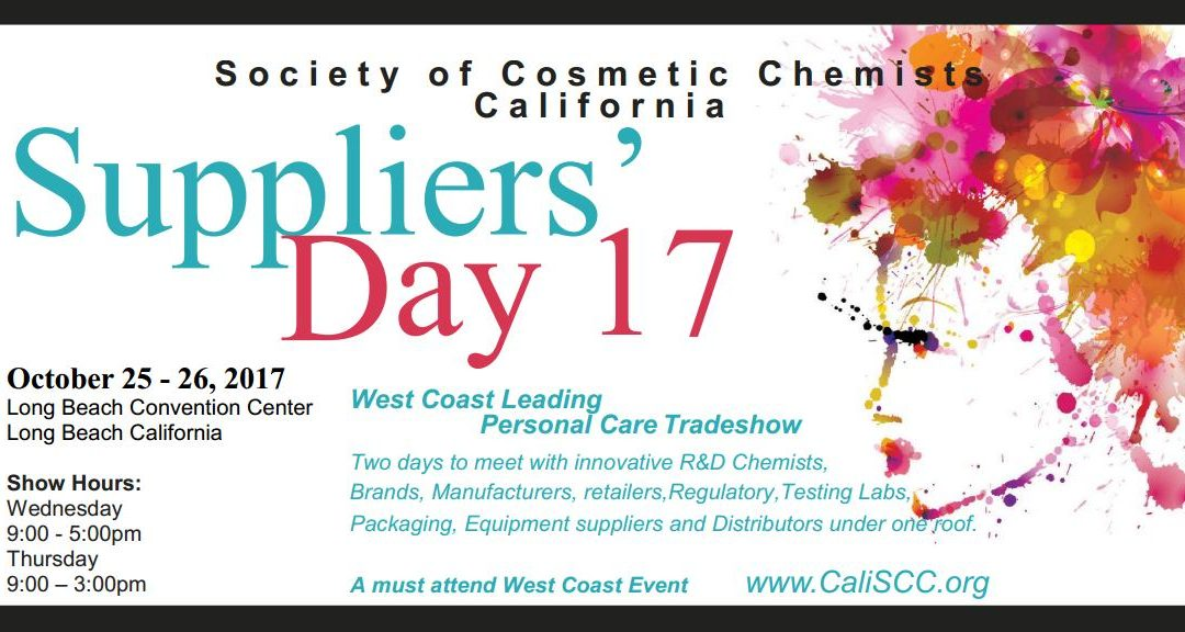 SCC California Chapter 2017 Suppliers' Day