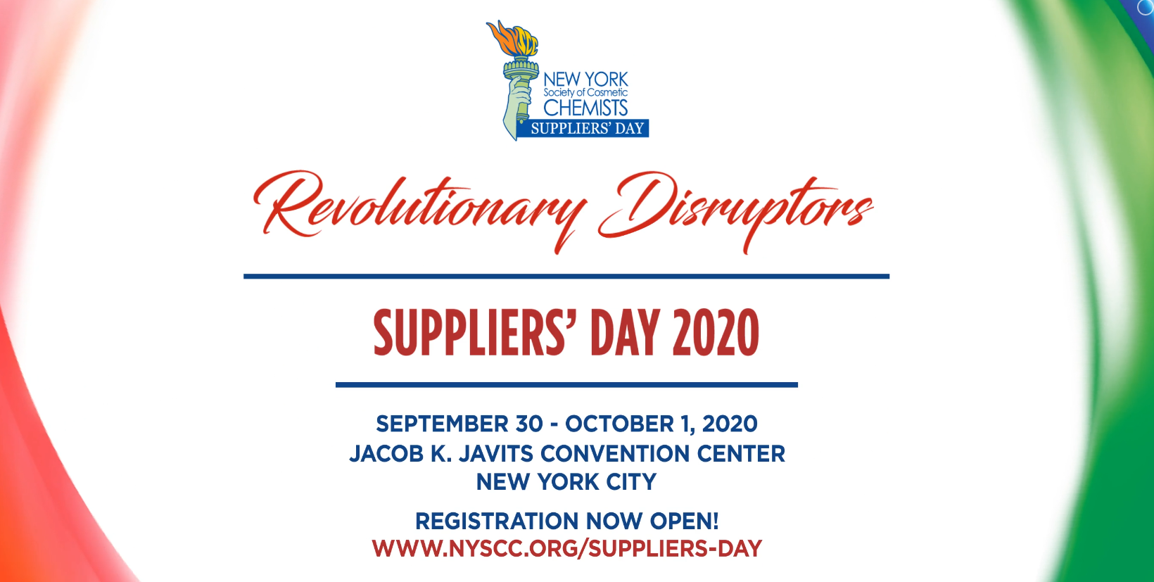 Suppliers' Day 2020 - NYSCC